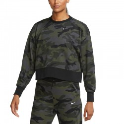 Nike Dri-FIT Get Fit Camo Training Thunder Grey (CU4621-082)ΓΥΝΑΙΚΕΙΑ ΜΠΛΟΥΖΑ